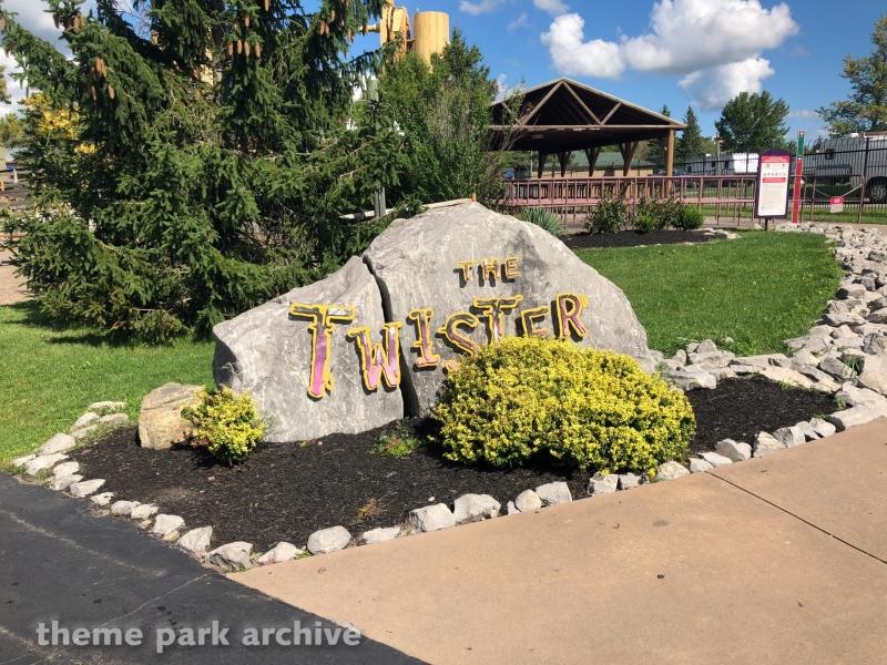 Twister at Six Flags Darien Lake