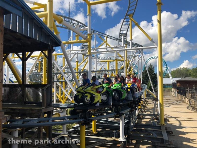 Motocoaster at Six Flags Darien Lake