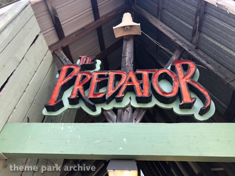 Predator at Six Flags Darien Lake