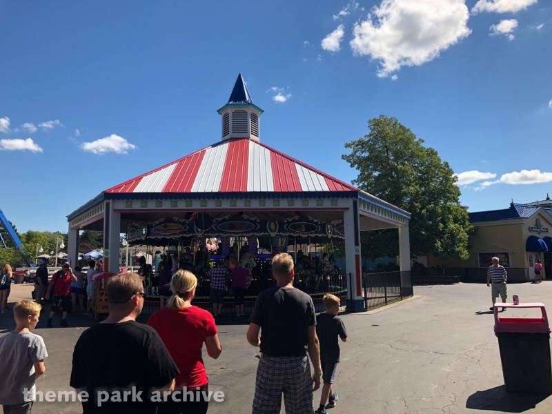 Grand Carousel at Six Flags Darien Lake