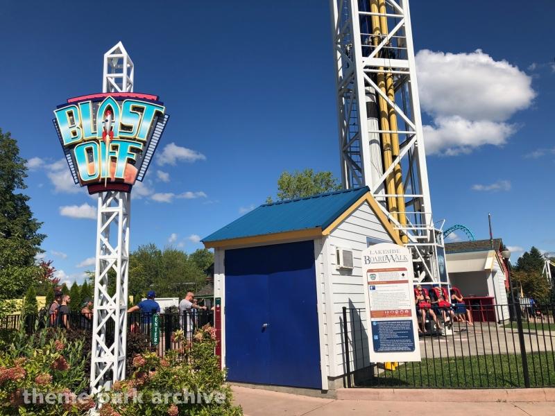 Blast Off! at Six Flags Darien Lake
