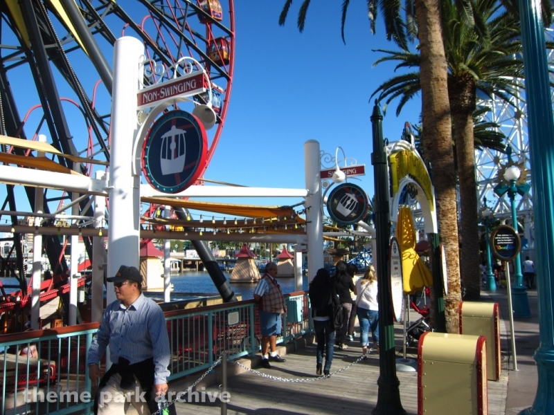 Mickey's Fun Wheel at Disney California Adventure