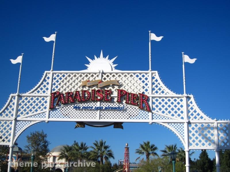 Paradise Pier at Disney California Adventure
