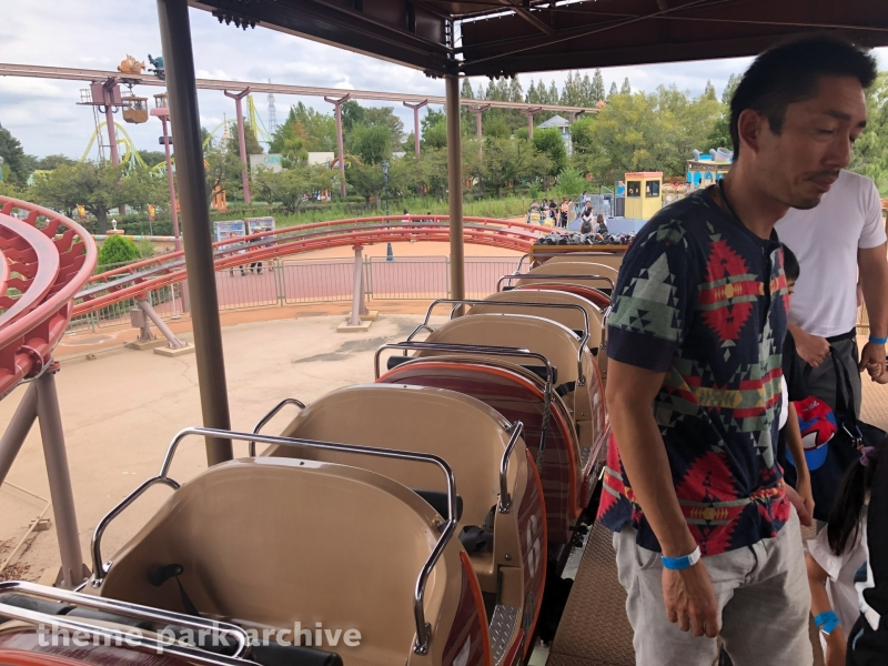 Diggy and Duggy's Torokko Coaster at Tobu Zoo