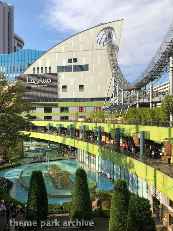 Thunder Dolphin at Tokyo Dome City