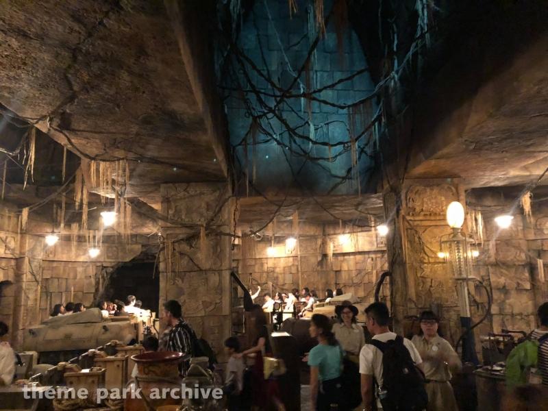Indiana Jones Adventure Temple of the Crystal Skull at Tokyo DisneySea