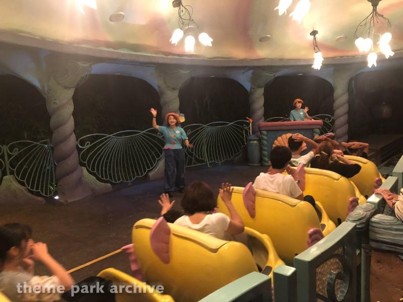 Flounder's Flying Fish Coaster at Tokyo DisneySea