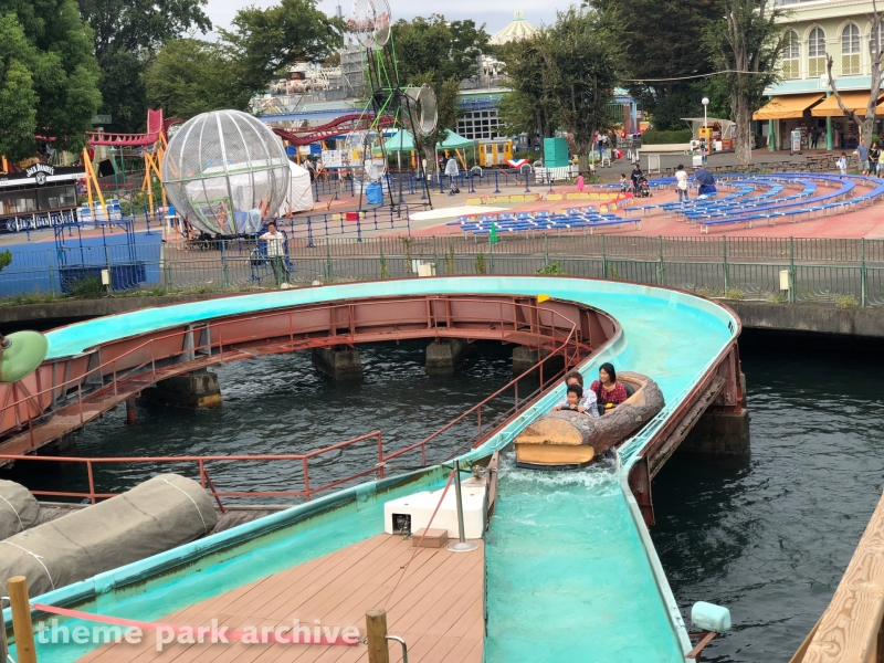 Flume Ride at Toshimaen