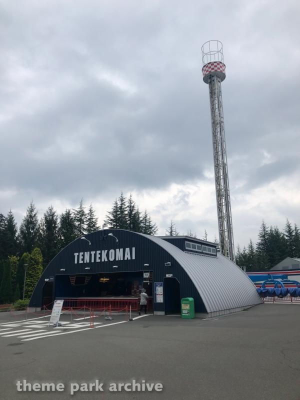 Tentekomai at Fuji Q Highland