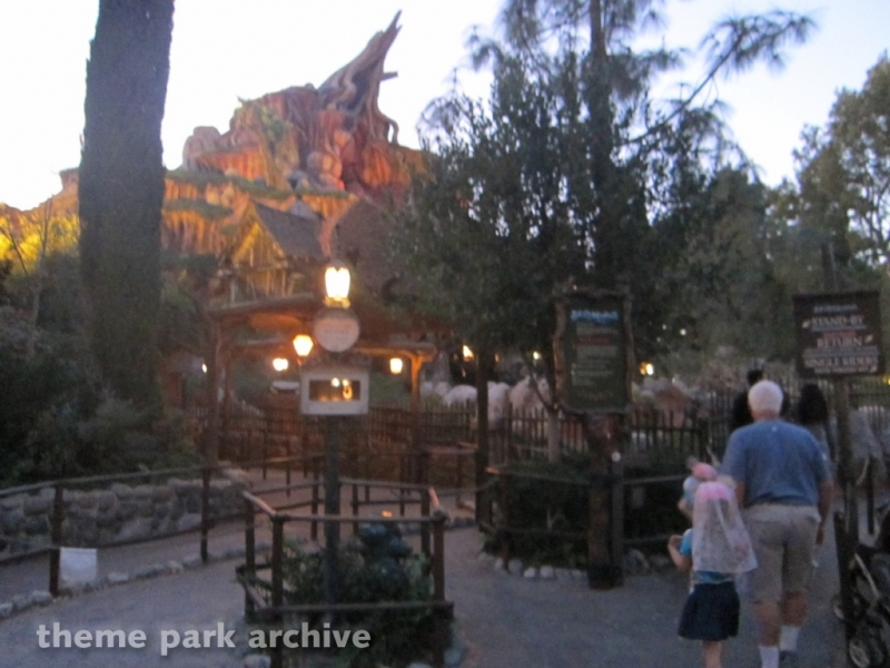 Splash Mountain at Disneyland