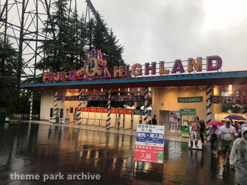 Entrance at Fuji Q Highland