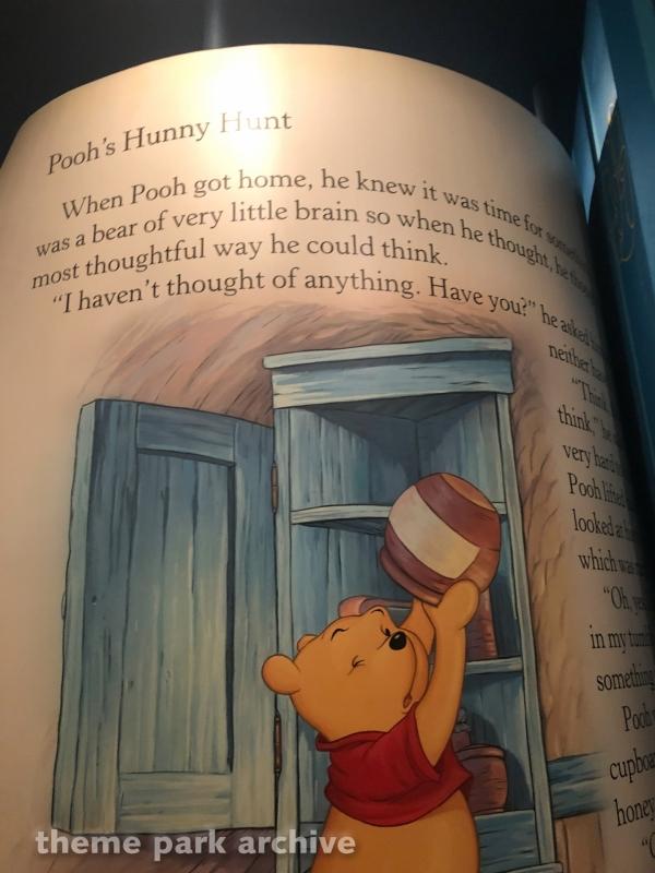 Pooh's Hunny Hut at Tokyo Disneyland