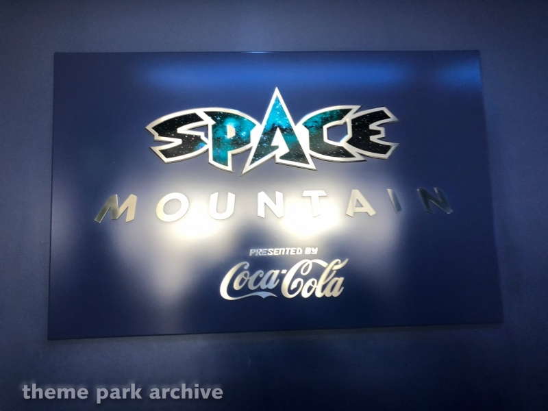Space Mountain at Tokyo Disneyland