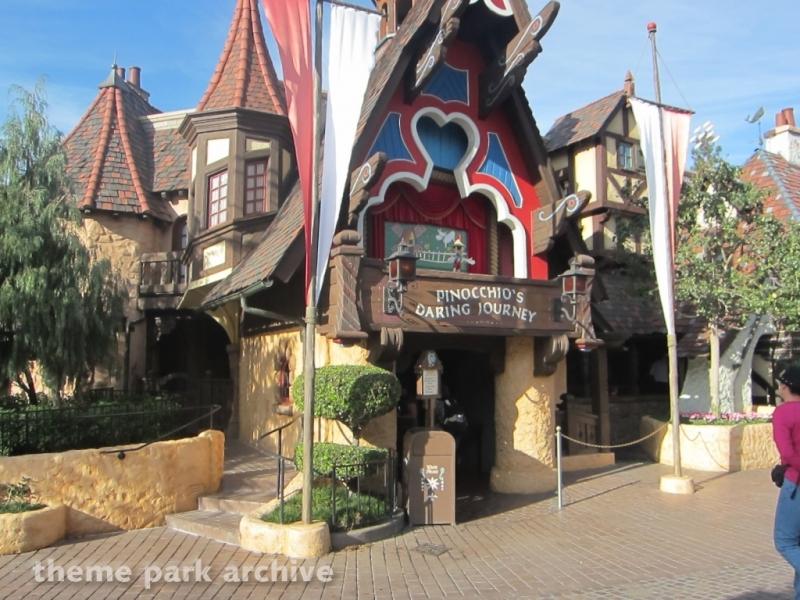 Pinocchio's Daring Journey at Disneyland