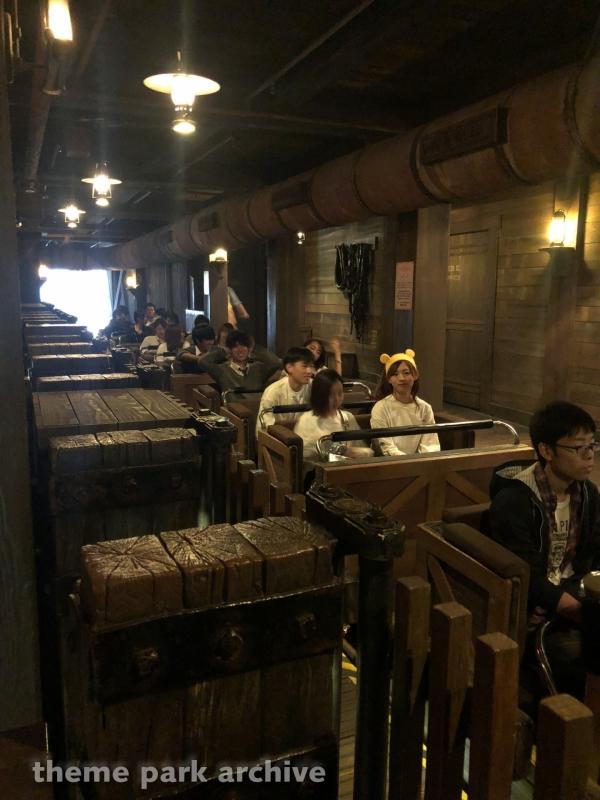 Big Thunder Mountain at Tokyo Disneyland