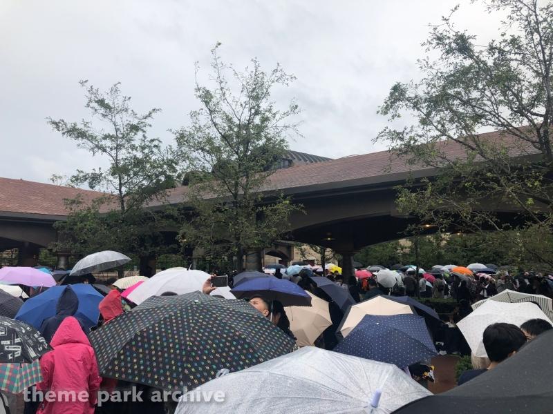 Entrance at Tokyo DisneySea