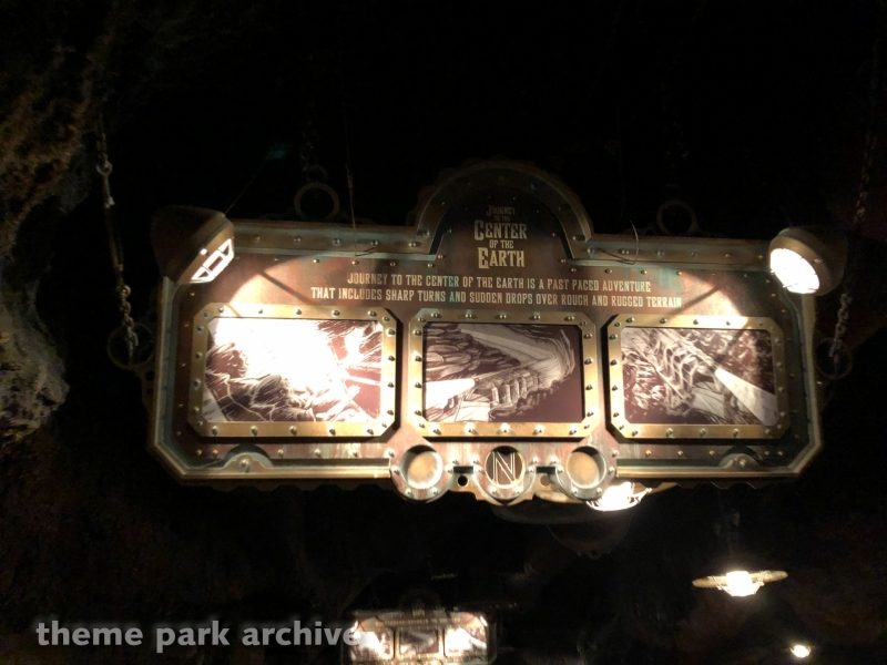 Journey to the Center of the Earth at Tokyo DisneySea