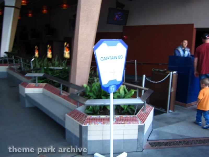 Captain EO at Disneyland
