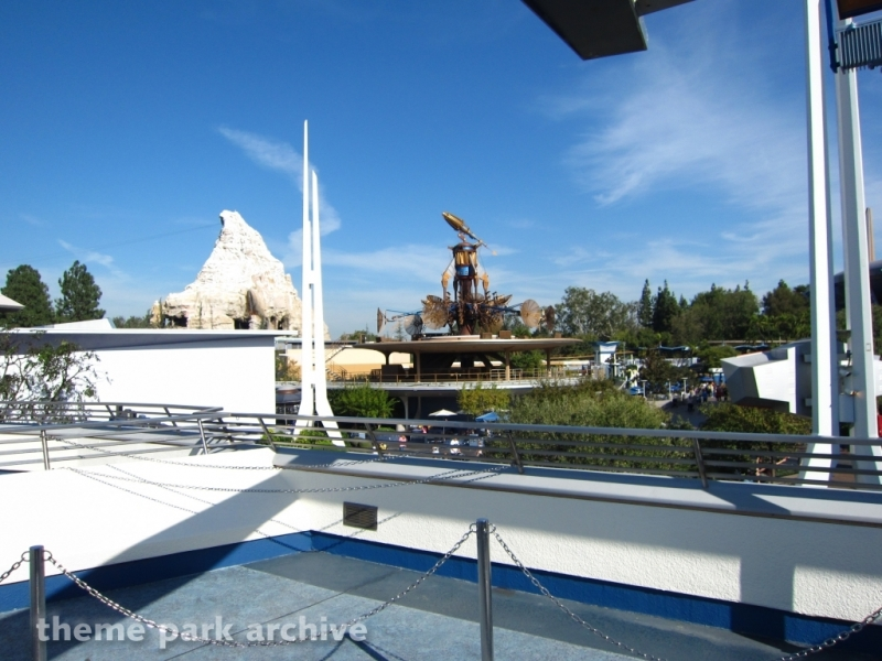Space Mountain at Disneyland