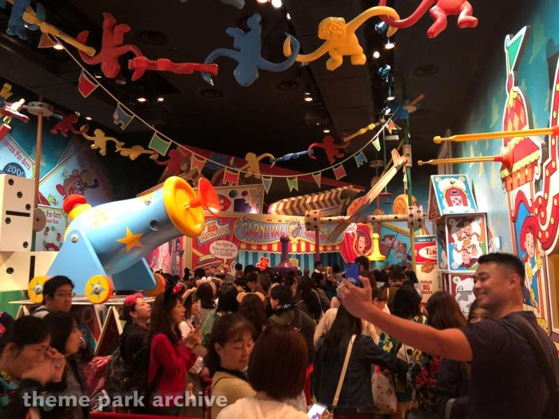 Toy Story Mania at Tokyo DisneySea