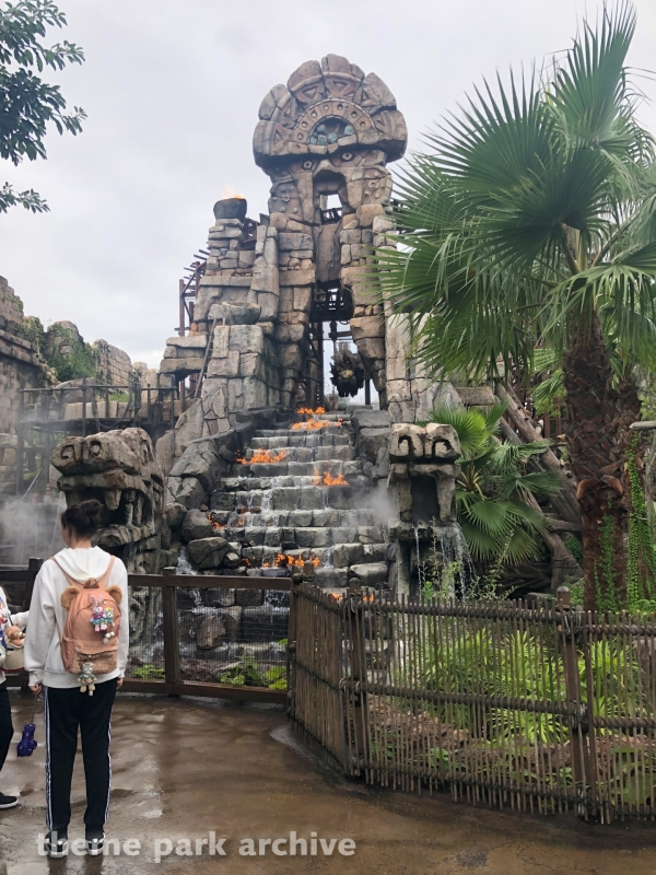 Raging Spirits at Tokyo DisneySea