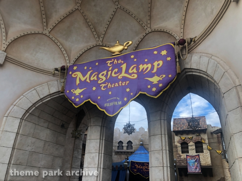 The Magic Lamp Theater at Tokyo DisneySea