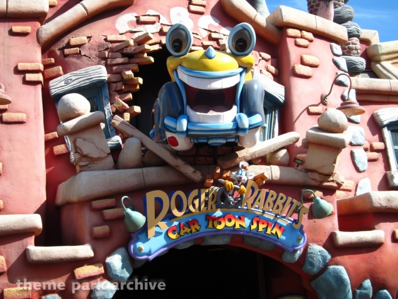 Roger Rabbit's Car Toon Spin at Disneyland
