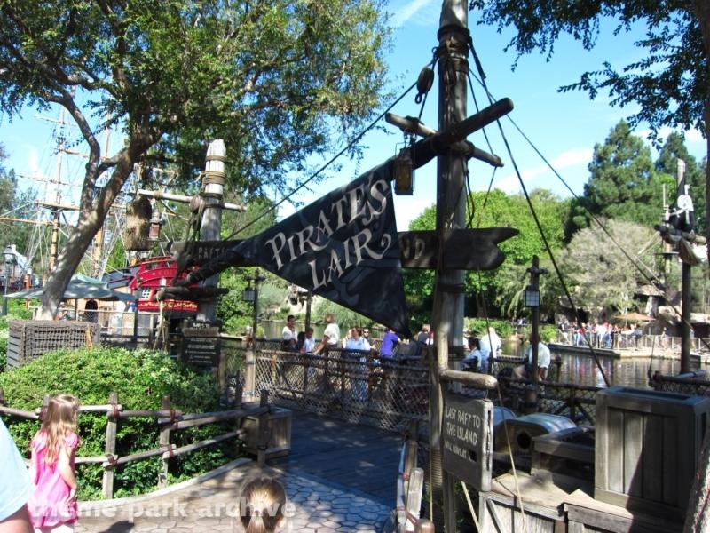 Pirate's Lair on Tom Sawyer Island at Disneyland