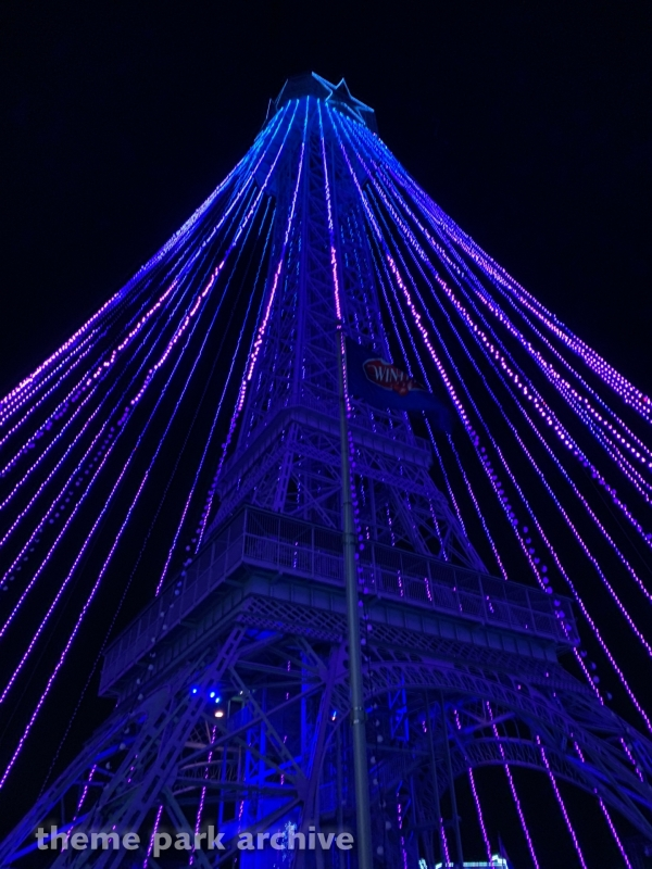Eiffel Tower at Kings Island