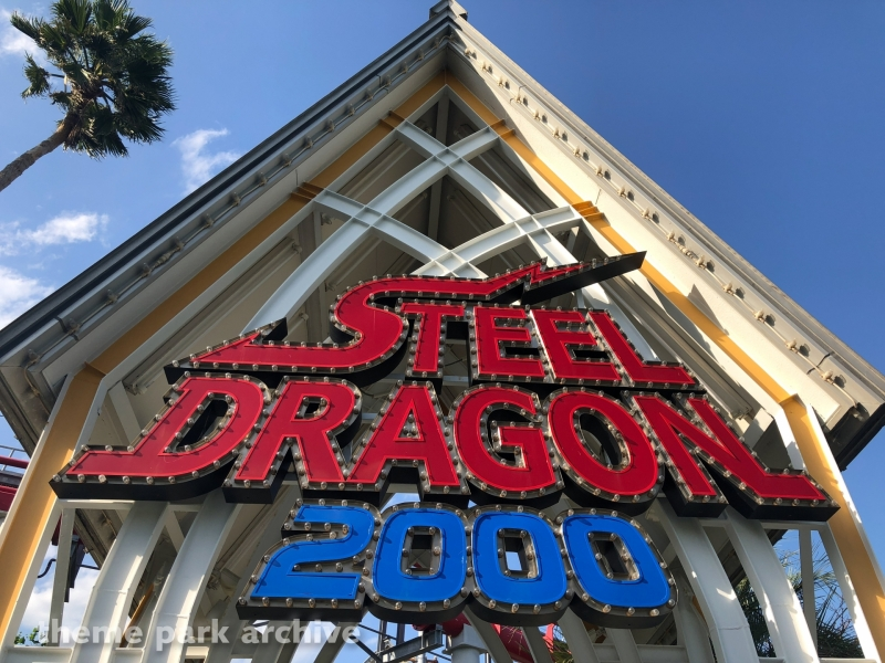 Steel Dragon 2000 at Nagashima Resort