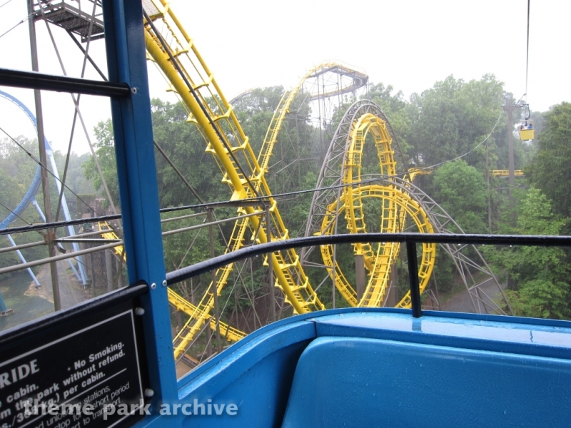 Loch Ness Monster at Busch Gardens Williamsburg