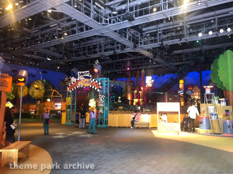 Snoopy's Great Race at Universal Studios Japan
