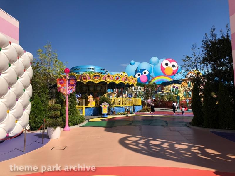 Big Bird's Big Top Circus at Universal Studios Japan