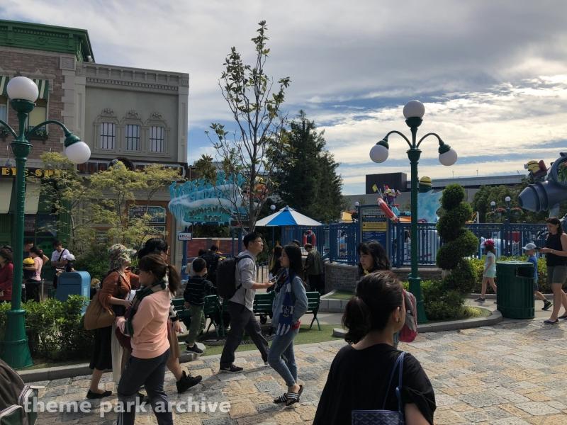 Freeze Ray Sliders at Universal Studios Japan
