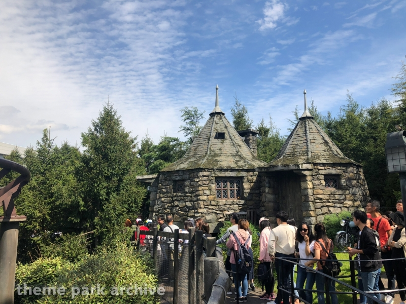 Flight of the Hippogriff at Universal Studios Japan