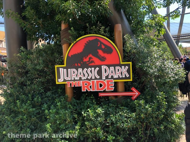 Jurassic Park The Ride at Universal Studios Japan