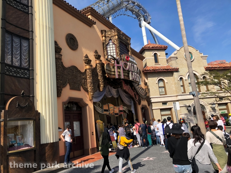 Hollywood Dream The Ride at Universal Studios Japan