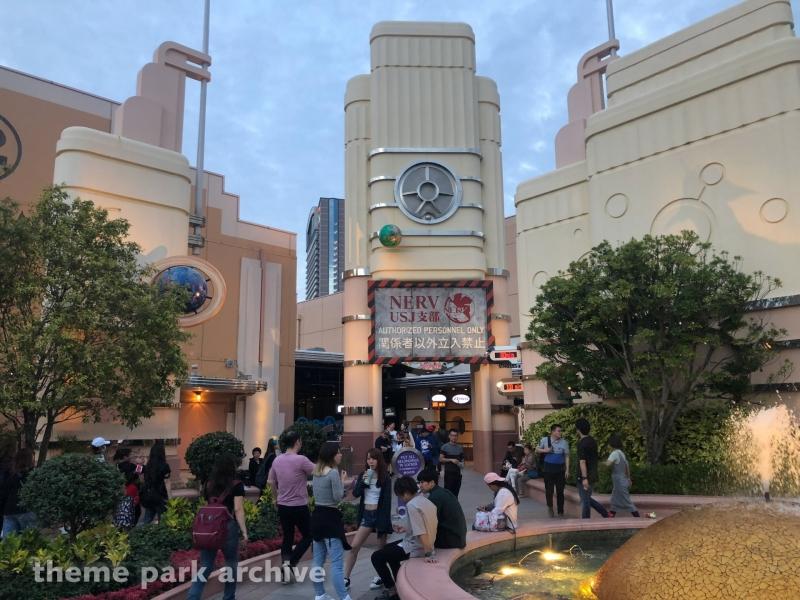 Space Fantasy The Ride at Universal Studios Japan