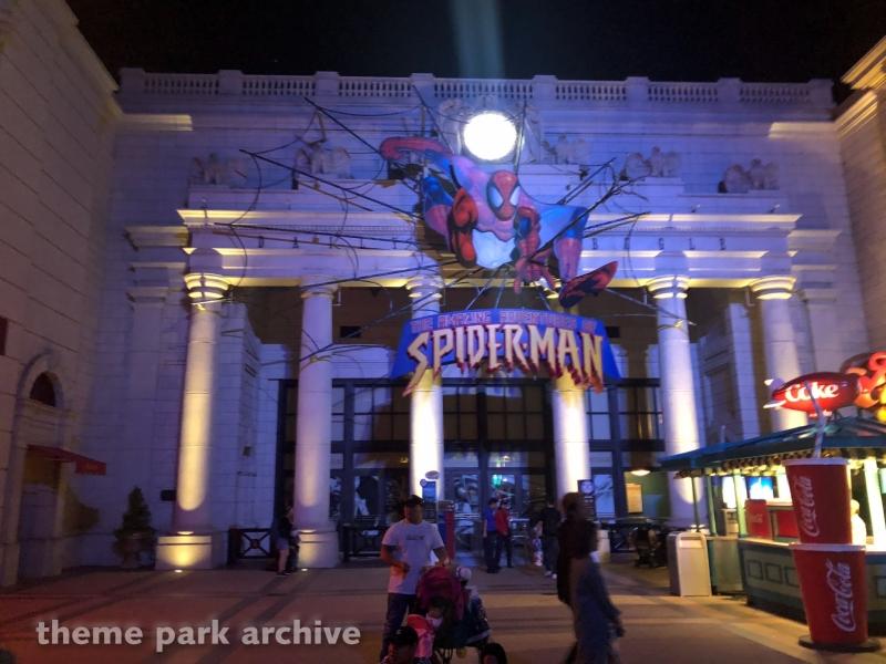 The Amazing Adventures of Spiderman at Universal Studios Japan