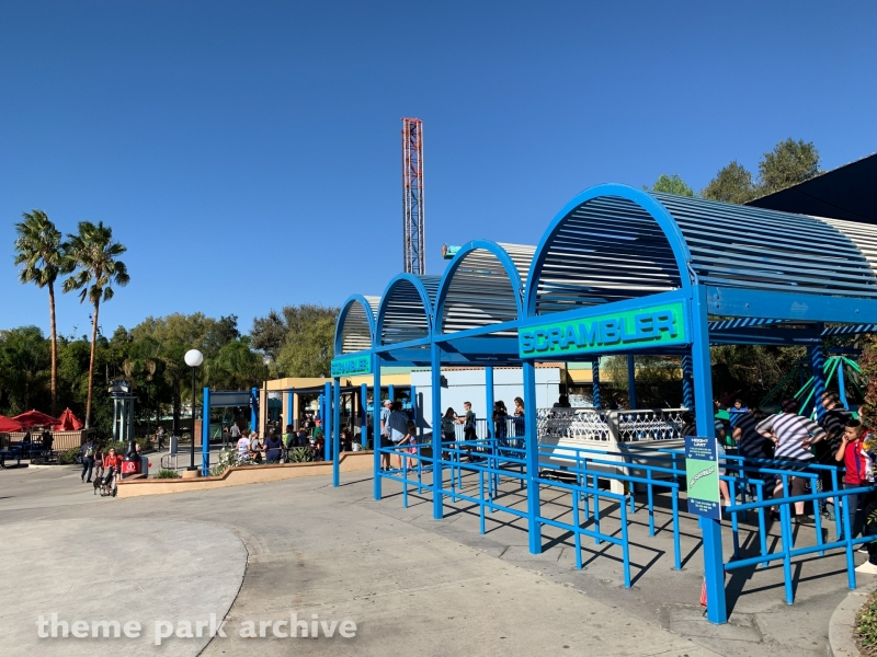 Scrambler at Six Flags Magic Mountain