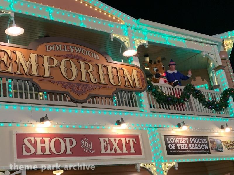 Entrance at Dollywood
