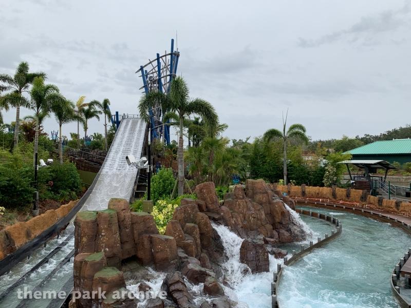 Infinity Falls at Sea World Orlando