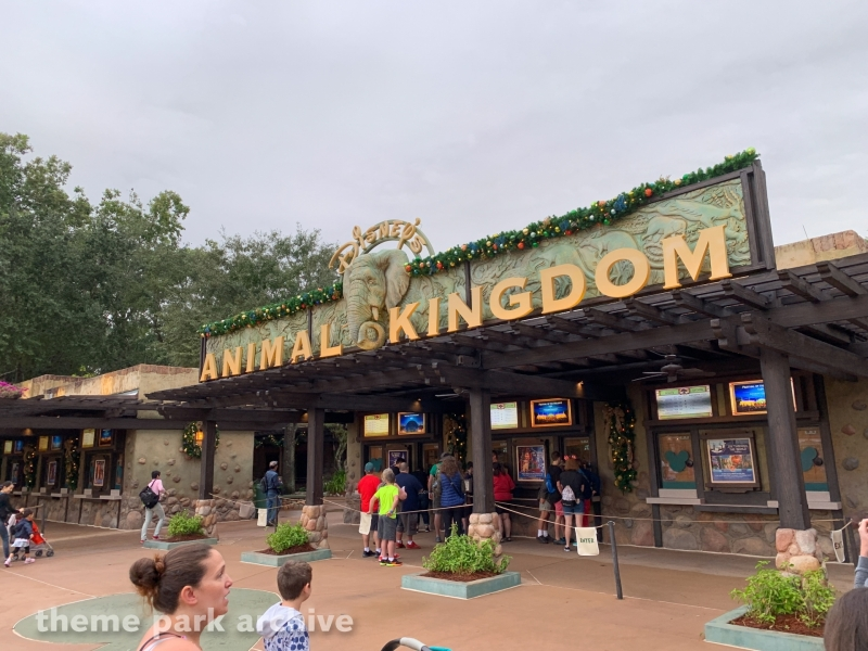 Entrance at Disney's Animal Kingdom
