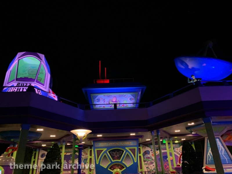 Alien Swirling Saucers at Disney's Hollywood Studios