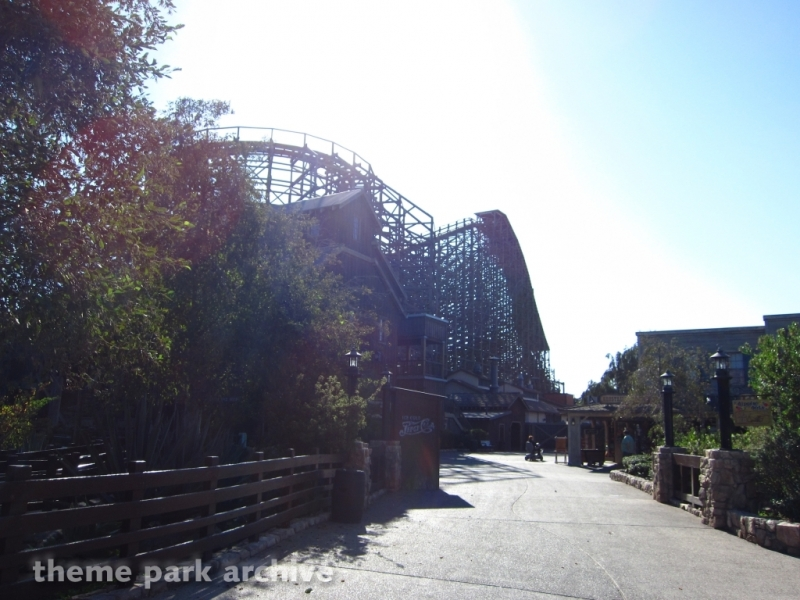 Ghostrider at Knott's Berry Farm