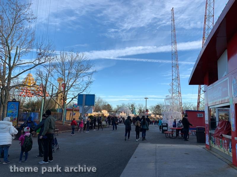 Boardwalk at Six Flags Great Adventure