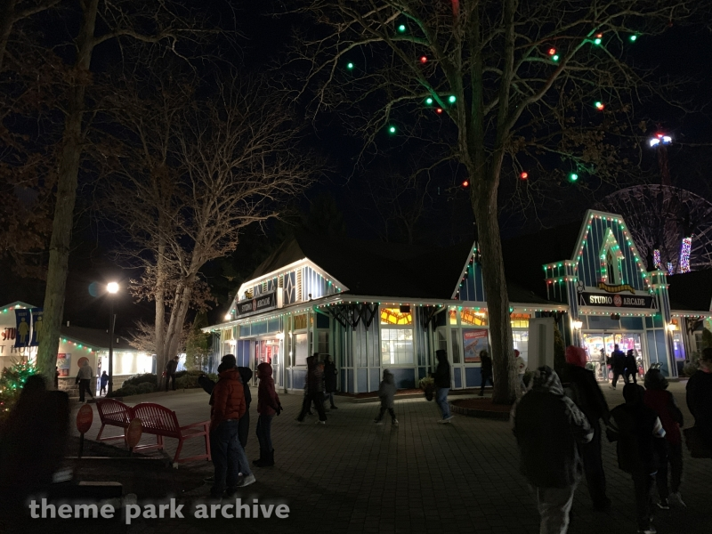 Main Street at Six Flags Great Adventure