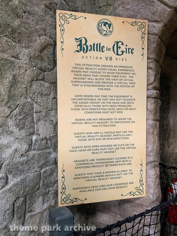 Battle for Eire at Busch Gardens Williamsburg