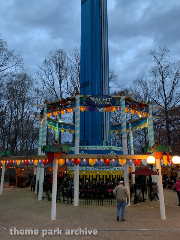 Mach Tower at Busch Gardens Williamsburg