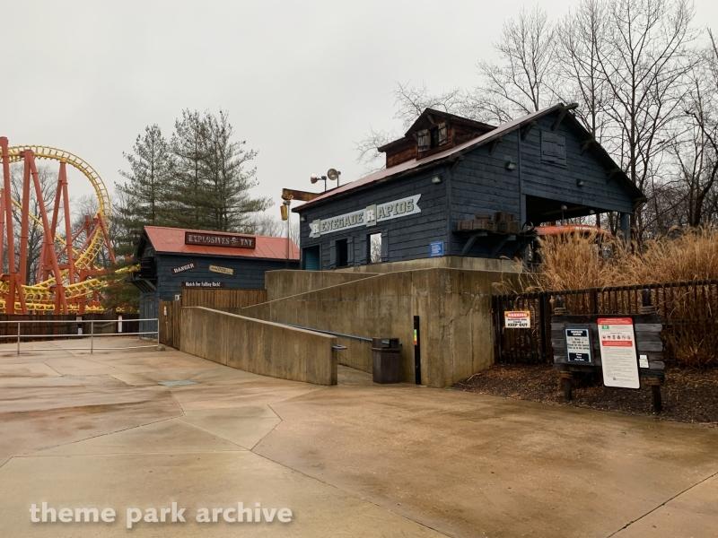 Renegade Rapids at Six Flags America